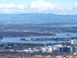 See Burley Griffin und Nationalmuseum
