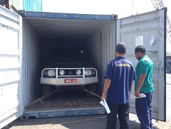 Receiving the car