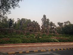 Sat marsh memorial in Delhi