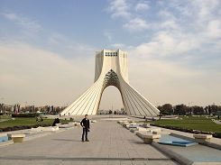 Azadi Tower in Teheran