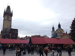 Christmas market at the old town square